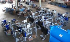 Individuālo siltummezglu rūpnieciska izgatavošana un montāža