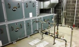 Apkures, ventilācijas un kondicionēšanas sistēmu montāža